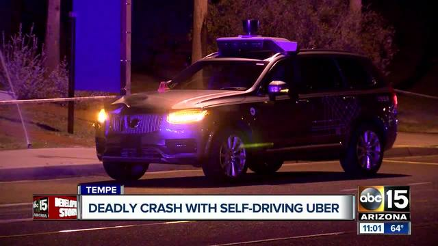 Driverless Uber car results in first death
