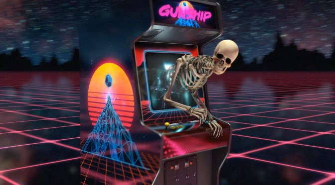 Gunship: Cyberpunk electronica with Saxophone and HQ music videos