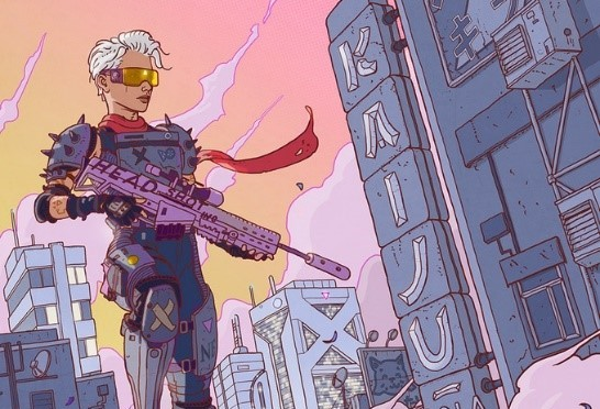 Killtopia: A Fresh Neon-Splattered Cyberpunk Comic