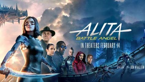 alita battle angel release