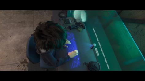 Hiro VR keyboard Big Hero 6