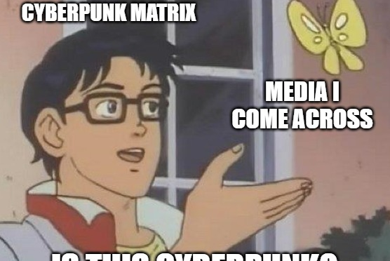 Is This Cyberpunk? A New Series at Cyberpunk Matrix