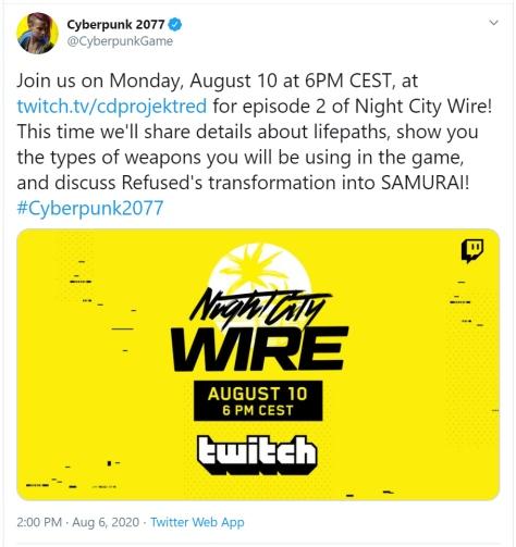 Night city wire episode 2