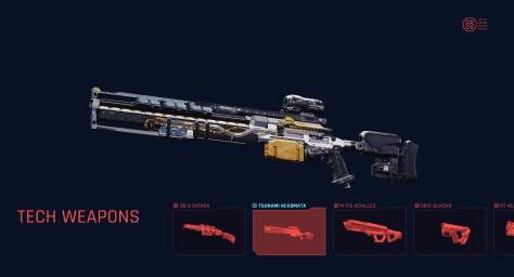 tech weapon