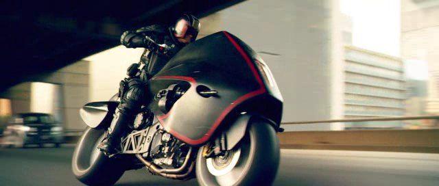 Dredd lawmaster bike